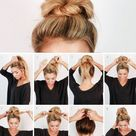 hair styles for long hair length step by step easy