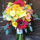 Country Wedding Bouquets