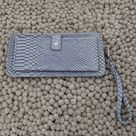 Adrienne Vittadini Bags   Adrienne Vittadini Wallet Vegan Snake Leather   Color: Gray/Silver   Size: Os