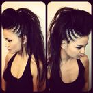 Long Hair Mohawk