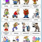 Hobbies ESL Vocabulary Worksheets