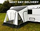 Up 1x 2017 Sunncamp Swift 260 Deluxe Caravan Porch Awning Plus Rear Upright Pads