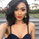 WowEbony Peruvian Virgin Human Hair Bob Wave Lace Front Wigs [LFW045]