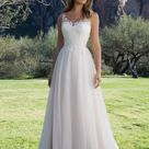 Charming Tulle Lace Sweetheart With Appliques Wedding Dress W316   US6 / red