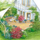 1 Garten, 2 Ideen Ein Wohnzimmer im Grünen