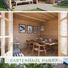 Gartenhaus Modell  Hanna-40 Gartenhaus Modell Hanna-40