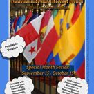 National Hispanic Heritage Month (Special Month Series)- PDF for Handouts [SEPT]