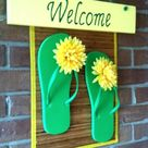 Flip Flop Decorations
