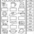 CVC Words interactive worksheet