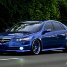 2008 Acura TL. Beautiful car I'd love to own one of these. They ruined the look of this car with the introduction of the 2009.