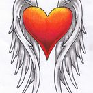 Winged heart tattoo by madtattooz on DeviantArt
