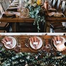 80+ Hochzeitsdeko-Ideen für lange Tische - Hochzeitskiste