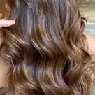 Best Hair Colours To Look Younger : Toasted almond brown hair