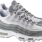 Nike Shoes Mens Air Max 95 Essential Particle Grey White Light Smoke Grey - 9UK