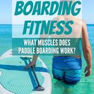 Paddle Boarding Fitness - What Muscles Does Paddle Boarding Work? - Watersports Bay