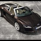 2011 Audi R8 Spyder 5.2 FSI Quattro    Top View