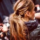 Messy Low Ponytails