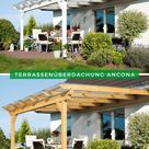 Terrassenüberdachung modern: Terrassenüberdachung Ancona