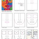 Draw an Abstract Face · Art Projects for Kids