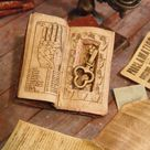 Dollhouse Miniature Book With Secret Compartment & Skeleton   Etsy