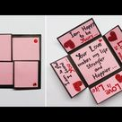 Valentines Day Cards | Valentine Cards Handmade Easy | Love Greeting Cards Latest Design | #175