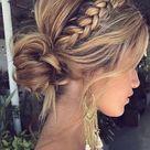 34 beautiful braided wedding hairstyles for the modern bride   TANIA MARAS   bespoke wedding headpieces + wedding veils
