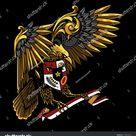 Garuda Pancasila Indonesia Illustration Stock Vector (Royalty Free) 1158399973