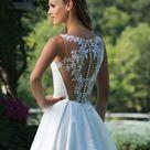 Sincerity Bridal 3987, Ivory/Nude, Size 8, $999