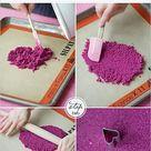 DIY Ombre Sugar Hearts