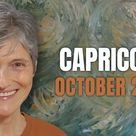 CAPRICORN October 2021 - Astrology Horoscope Forecast