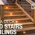 20 Ways To Build Free Standing Wooden Steps