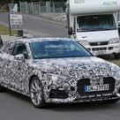 First Spy Photos of 2017 Audi A5 Coupe Show Wider, Sexier Design