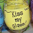 Funny Wine Glasses