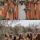 A line Dusty Orange Chiffon Bridesmaid Dresses,Cheap Bridesmaid Dresses,WGY0379