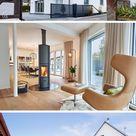 Modernes Stadthaus EHRMANN mit Satteldach - Baufritz   HausbauDirekt.de