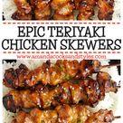 Epic Teriyaki Chicken Skewers
