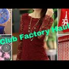 #Club Factory 🎄🎄 Christmas Sale Haul 🎄🎄with coupon code -7817530bb