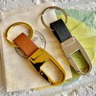 Real Leather Key Chain (Unisex)