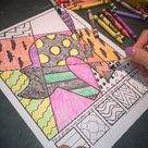 Interactive Halloween Coloring Pages + Writing Prompts | Fun Halloween Activity!