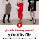 festliche Mode gesucht? Das sind meine 5 Outfits für Weihnachten und Silvester! - Life und Style Blog aus Österreich