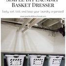 Simple DIY Laundry Basket Dresser – Practically Functional