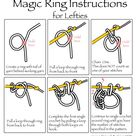 Crocheted Magic Ring [A How To Tutorial]    The Crochet Space