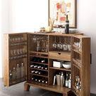 25 Creative Built In Bars And Bar Carts