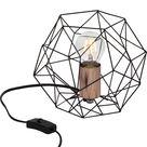 Lampe, e27 Synergie BRILLIANT, métal noir, 60 W