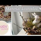 Holzschale aus Ästen selber machen ♥️ kostenlose Dekoration 2021 Gartendeko DIY mit Naturmaterialien