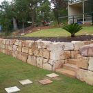 Sandstone Retaining Walls Brisbane - Cornerstone Boulder Walls