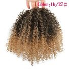 Afro Kinky Curly Ponytail   T1B/27 / 8inch