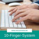 Flinke Finger auf der Tastatur - Das 10-Finger-System