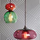 Orb Modern Glass Lights: 70s-inspired Glass Lighting Design — Curiousa & Curiousa