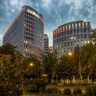 ING-DiBa setzt Frankfurter LEO neu in Szene / Hauptsitz von Deutschlands drittgrößter Privatkundenbank mit neuer Dachillumination